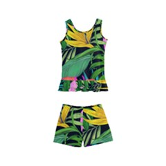 Tropical Adventure Kids  Boyleg Swimsuit