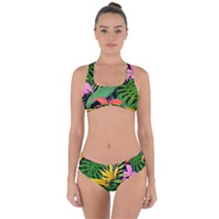 Tropical Adventure Criss Cross Bikini Set