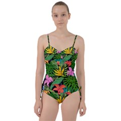 Tropical Adventure Sweetheart Tankini Set