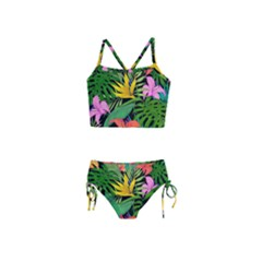 Tropical Adventure Girls  Tankini Swimsuit