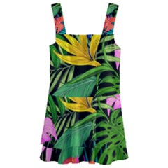 Tropical Adventure Kids  Layered Skirt Swimsuit