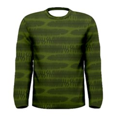 Seaweed Green Men s Long Sleeve Tee