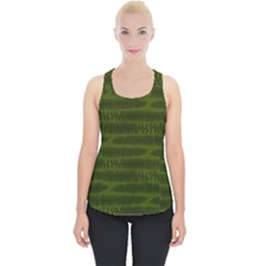 Seaweed Green Piece Up Tank Top by WensdaiAmbrose
