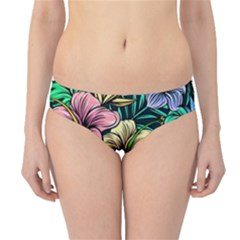 Hibiscus Dream Hipster Bikini Bottoms