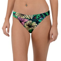 Hibiscus Dream Band Bikini Bottom