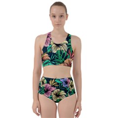 Hibiscus Dream Racer Back Bikini Set