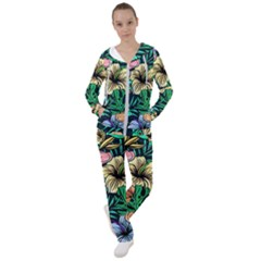 Hibiscus Dream Women s Tracksuit