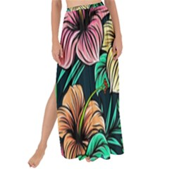 Hibiscus Dream Maxi Chiffon Tie-up Sarong