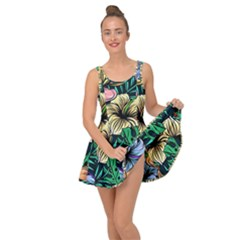 Hibiscus Dream Inside Out Casual Dress