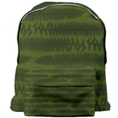 Seaweed Green Giant Full Print Backpack by WensdaiAmbrose