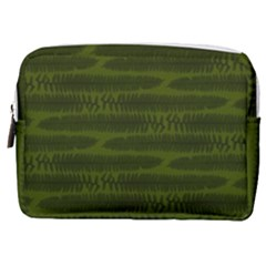 Seaweed Green Make Up Pouch (medium) by WensdaiAmbrose