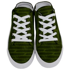 Seaweed Green Half Slippers by WensdaiAmbrose