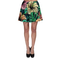 Hibiscus Dream Skater Skirt