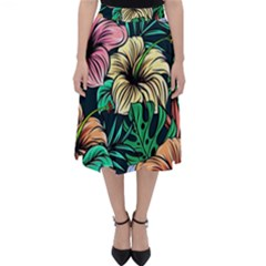 Hibiscus Dream Classic Midi Skirt