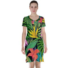 Tropical Adventure Short Sleeve Nightdress