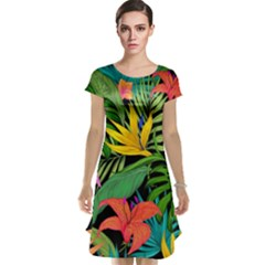 Tropical Adventure Cap Sleeve Nightdress