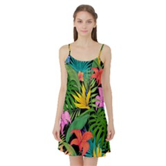 Tropical Adventure Satin Night Slip