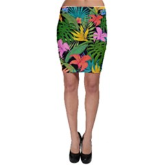Tropical Adventure Bodycon Skirt