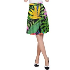 Tropical Adventure A Line Skirt