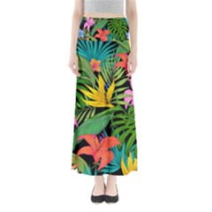 Tropical Adventure Full Length Maxi Skirt
