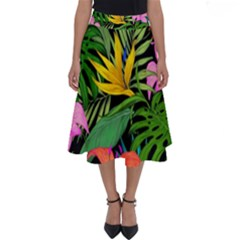 Tropical Adventure Perfect Length Midi Skirt
