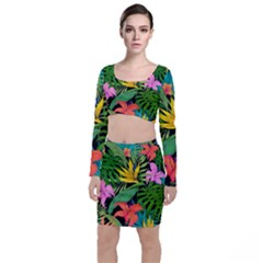 Tropical Adventure Top And Skirt Sets