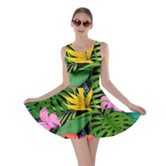 Tropical Adventure Skater Dress