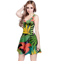 Tropical Adventure Reversible Sleeveless Dress