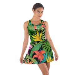 Tropical Adventure Cotton Racerback Dress