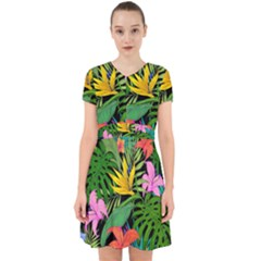 Tropical Adventure Adorable In Chiffon Dress