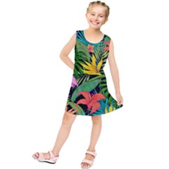 Tropical Adventure Kids  Tunic Dress