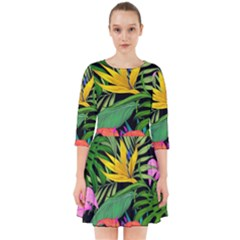 Tropical Adventure Smock Dress