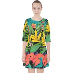 Tropical Adventure Pocket Dress