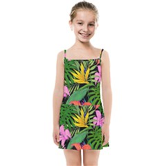 Tropical Adventure Kids  Summer Sun Dress