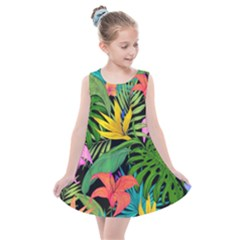 Tropical Adventure Kids  Summer Dress