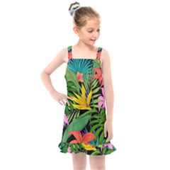 Tropical Adventure Kids  Overall Dress