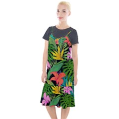 Tropical Adventure Camis Fishtail Dress