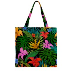 Tropical Adventure Grocery Tote Bag