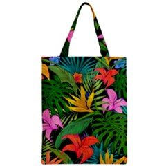 Tropical Adventure Zipper Classic Tote Bag