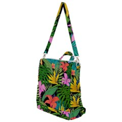 Tropical Adventure Crossbody Backpack