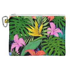 Tropical Adventure Canvas Cosmetic Bag (xl)