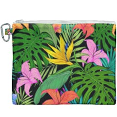 Tropical Adventure Canvas Cosmetic Bag (xxxl)
