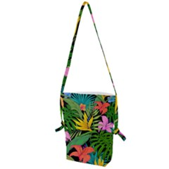 Tropical Adventure Folding Shoulder Bag