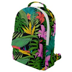 Tropical Adventure Flap Pocket Backpack (small)