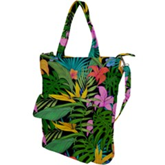 Tropical Adventure Shoulder Tote Bag