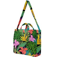 Tropical Adventure Square Shoulder Tote Bag