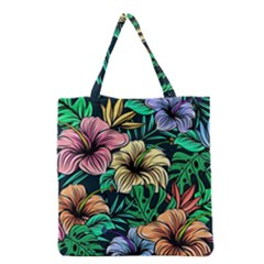 Hibiscus Dream Grocery Tote Bag