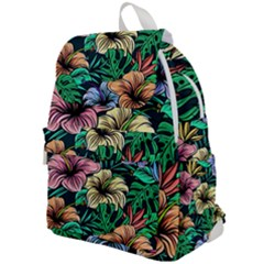 Hibiscus Dream Top Flap Backpack