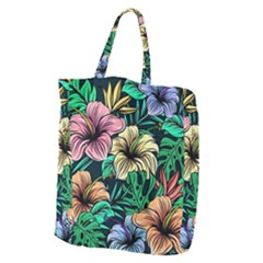 Hibiscus Dream Giant Grocery Tote