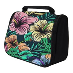 Hibiscus Dream Full Print Travel Pouch (small)